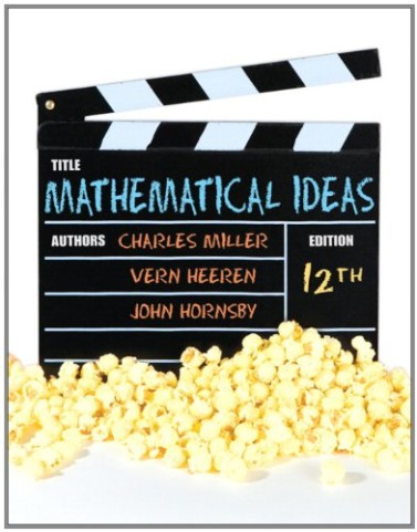 Test Bank for Mathematical Ideas 12th edition by Miller (Copy)