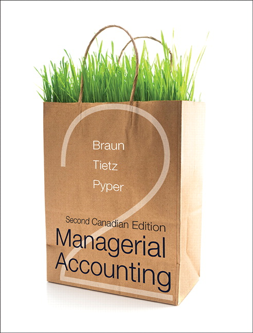 managerial accounting wendys Managerial accounting, student value edition and myaccountinglab with pearson braun, wendy m tietz, charles pearson, pearson education staff, 2010, ,.