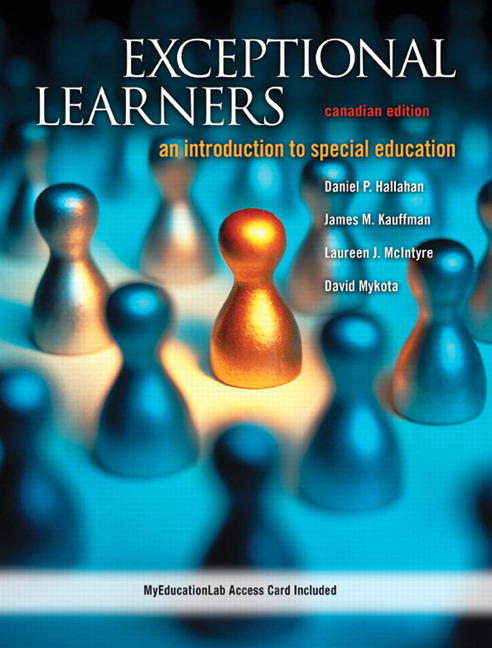 Test Bank for Exceptional Learners: An Introduction to Special Education, Canadian Edition