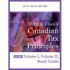 Solution Manual for Byrd & Chen's Canadian Tax Principles, 2015 - 2016 Edition Plus Companion Website with Pearson eText -- Package - Clarence Byrd & Ida Chen