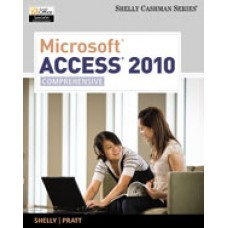 Solution Manual for Microsoft Access 2010 Comprehensive, 1st Edition