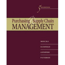 Test Bank for Purchasing and Supply Chain Management, 5th Edition