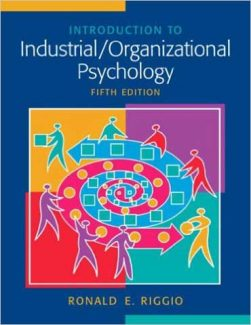 Downloadable Test Bank for Introduction To Industrial Organizational Psychology 5th Edition Riggio