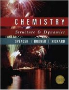 Solution Manual for Chemistry Structure And Dynamics 4th Edition Spencer