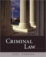 Test Bank for Criminal Law 10th Edition Samaha
