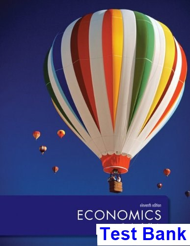 Economics 11th Edition Slavin Test Bank