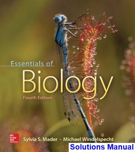 Essentials of Biology 4th Edition Mader Solutions Manual