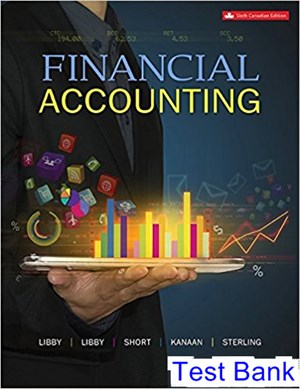 Financial Accounting Canadian 6th Edition Libby Test Bank