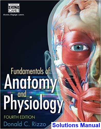 Fundamentals of Anatomy and Physiology 4th Edition Rizzo Solutions Manual