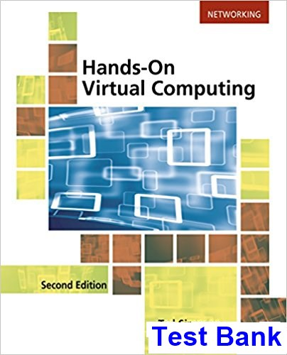 Hands on Virtual Computing 2nd Edition Simpson Test Bank