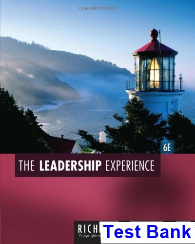 Leadership Experience 6th Edition Daft Test Bank