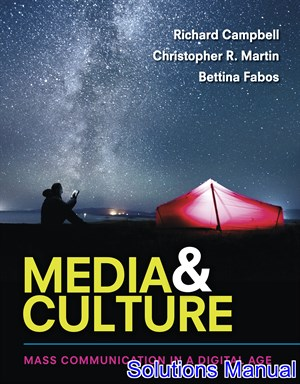 Media and Culture An Introduction to Mass Communication 11th Edition Campbell Solutions Manual