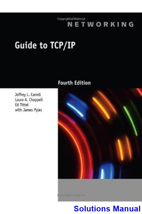 The Tcp Ip Guide Manual Guide