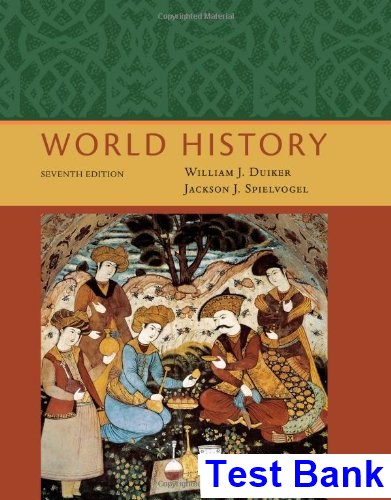 World History 7th Edition Duiker Test Bank