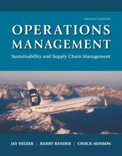 Test Bank for Operations Management 12th Edition by Heizer