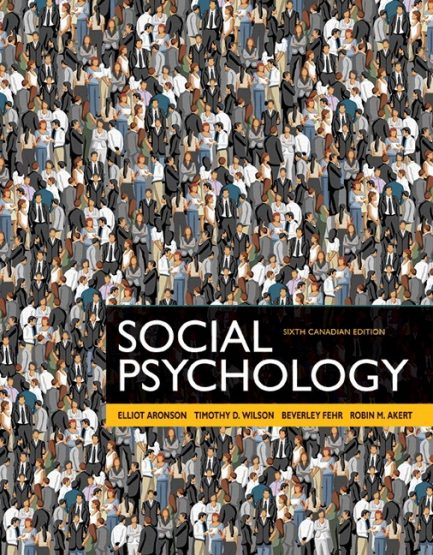 Test Bank for Social Psychology 6th Canadian Edition by Aronson