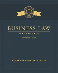 Test Bank for Business Law 14th Edition by Clarkson