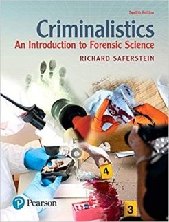 Test Bank for Criminalistics: An Introduction to Forensic Science 12th Edition