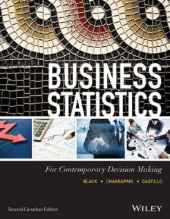 Solution Manual for Business Statistics for Contemporary Decision Making, 2nd Canadian Edition