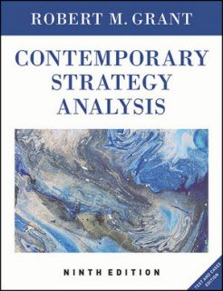 Test Bank for Contemporary Strategy Analysis: Text and Cases Edition, 9th Edition