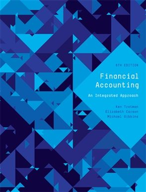 Solution Manual for Financial Accounting An Integrated Approach 6th Edition by Trotman