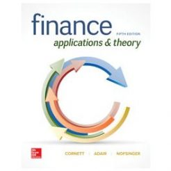 Test Bank for Finance Applications and Theory 5th Edition By Cornett