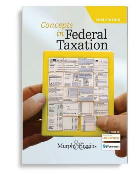 Solution Manual For Concepts In Federal Taxation 2019 26th By Kevin E. Murphy