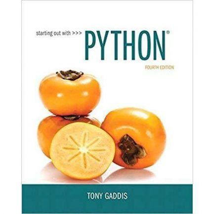 Solution Manual Starting Out with Python 4th Edition