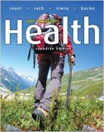 Test Bank for Core Concepts in Health, Canadian Edition
