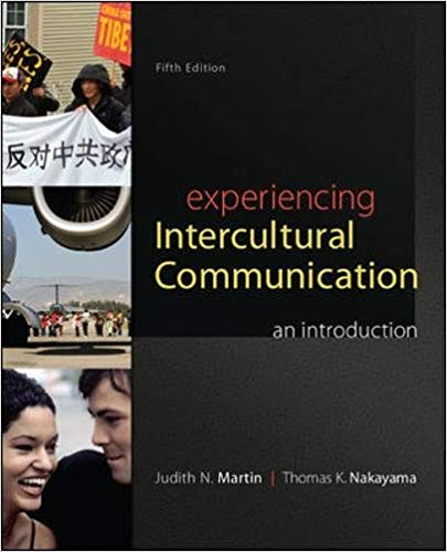 Test Bank for Experiencing Intercultural Communication An Introduction 5th Edition