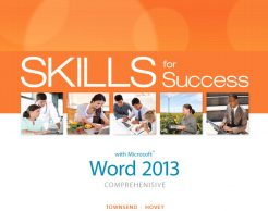 Test Bank For Skills for Success with Word 2013