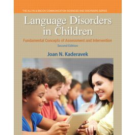 Test Bank for Language Disorders in Children 2nd Edition by Kaderavek