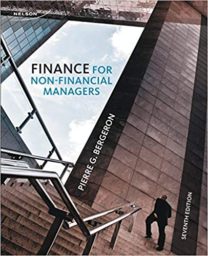 Test Bank for Finance for Non-Financial Managers : Fourth Canadian Edition
