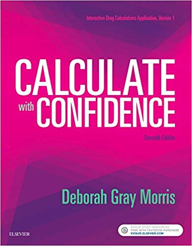 Test Bank for Calculate with Confidence 7th Edition
