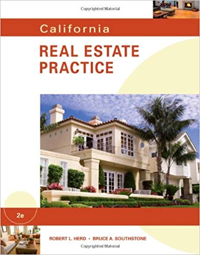 Test Bank for California Real Estate Practice 2nd Edition