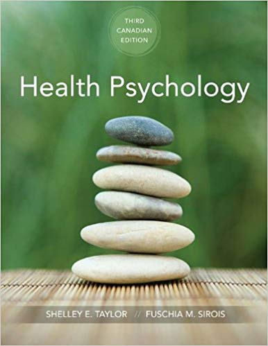 Test Bank for Health Psychology 3rd Canadian Edition