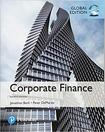 Test Bank for Corporate Finance, Global Second Edition
