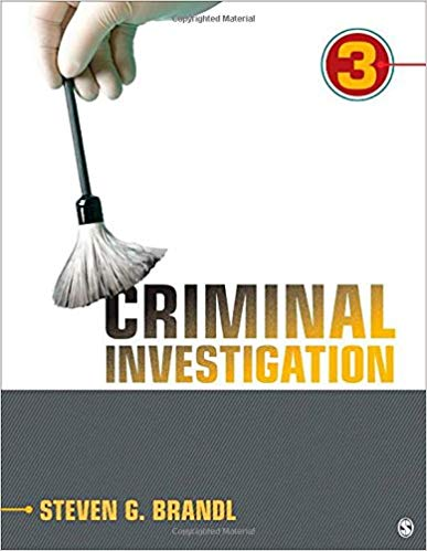 Test Bank for Criminal Investigation Third Edition