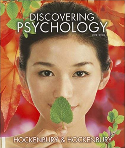 Test Bank for Discovering Psychology Sixth Edition