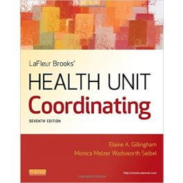 Test Bank for LaFleur Brooks Health Unit Coordinating 7th Edition by Gillingham