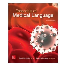 Test Bank for Essentials of Medical Language 3rd Edition by Allan