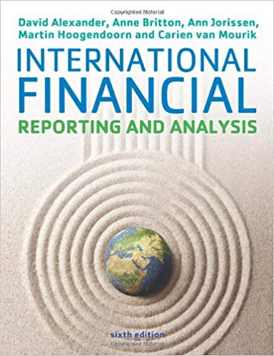 Test Bank for International Financial Reporting and Analysis 6th Edition Alexander