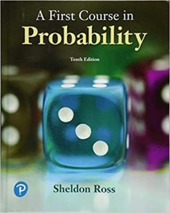 Solution Manual for A First Course in Probability 10th by Ross