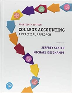 Test Bank for College Accounting A Practical Approach 14th by Slater