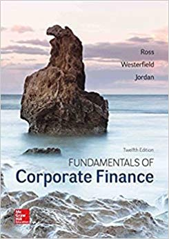 Solution Manual for Corporate Finance 12th by Ross