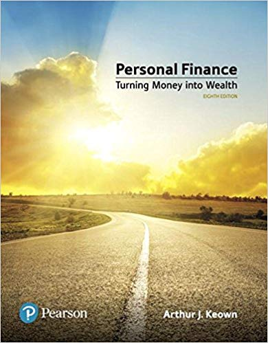 Solution Manual for Personal Finance 8th by Keown