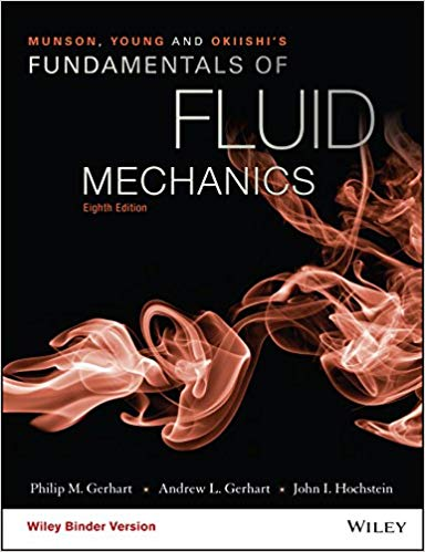 Solution Manual for Munson, Young and Okiishi's Fundamentals of Fluid Mechanics 8th by Gerhart