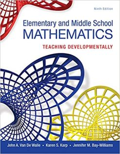 Test Bank for Elementary and Middle School Mathematics 9th by Walle