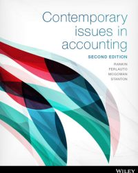 Solution Manual for Contemporary Issues in Accounting 2nd by Rankin