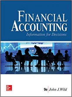Test Bank for Financial Accounting Information for Decisions 9th by Wild